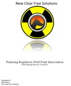 Pickering Hold Point Intervention